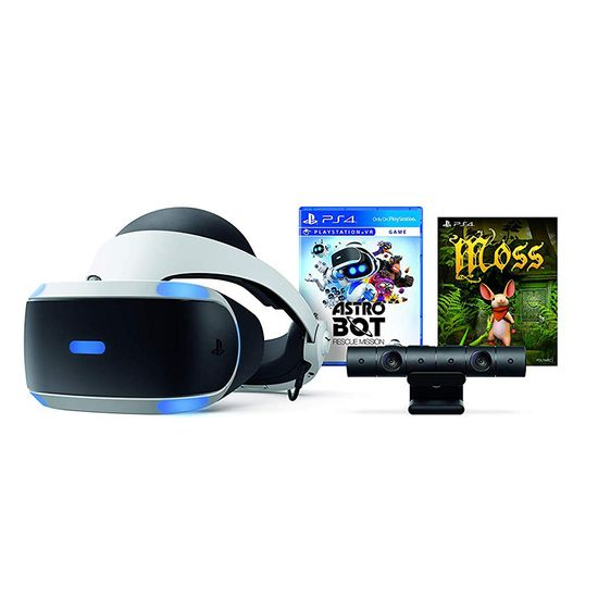PlayStation VR - Astro Bot Rescue Mission + Moss Bundle PS VR - Astro Bot Rescue Mission + Moss Bundle